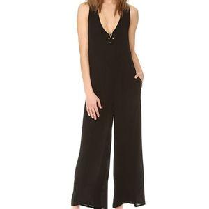 ONE TEASPOON   black strappy ladies jumpsuit